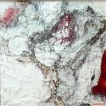 "276 - 100 x 100 - ""Marisol I"" - Farb-, Materialcollage - 2010"
